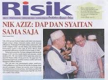 DAP + Syaitan = SAMA