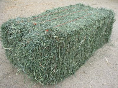 how to make a box look like hay bail