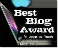 Thank you very much Ab, for always visiting my blog and the first person who gave me an awards.