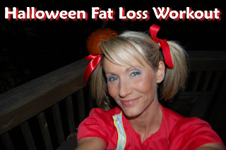 1h Halloween Workout Video Cheerleader Style