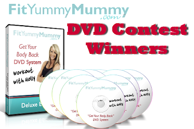 1winDVDs+2 Fit Yummy Mummy DVD Contest Winners