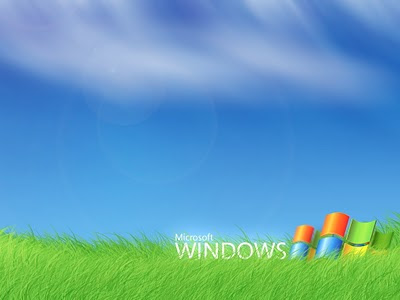 windows vista background