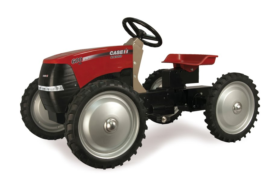 New Holland Tractor Pedals : Ertl new steiger pedal tractors