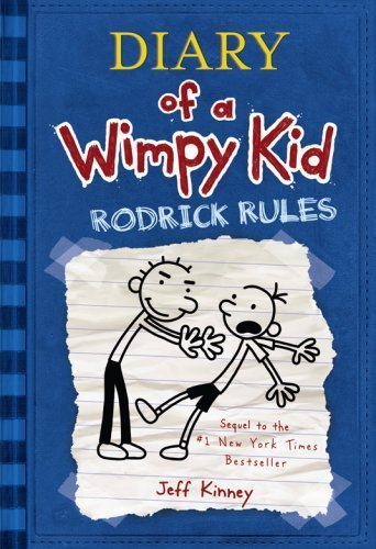Diary of a Wimpy Kid #2: Rodrick Rules by Jeff Kinney (2008, Hardcover) - New