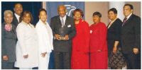 Atlanta Builder Herman J. Russell receives the Brotherhood Award from GCBW