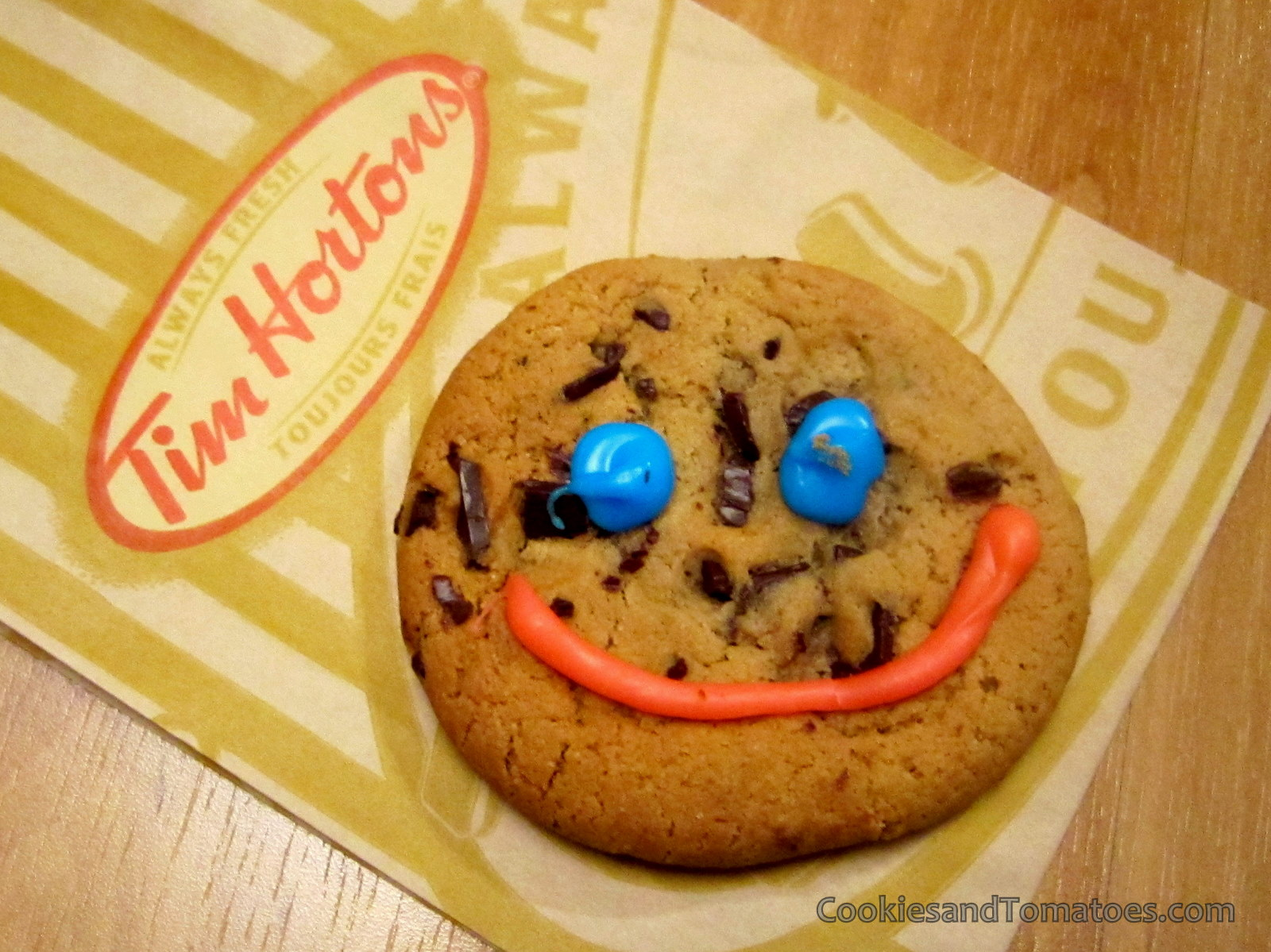 Smile Cookies are available