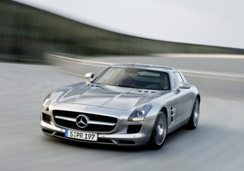 Mercedes Benz Sls Amg Stealth Model Car. This car is the modern