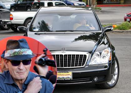 Charlie Sheen Acquire A 2017 Maybach Car