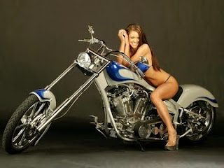 Cruiser Custom Bike Babe