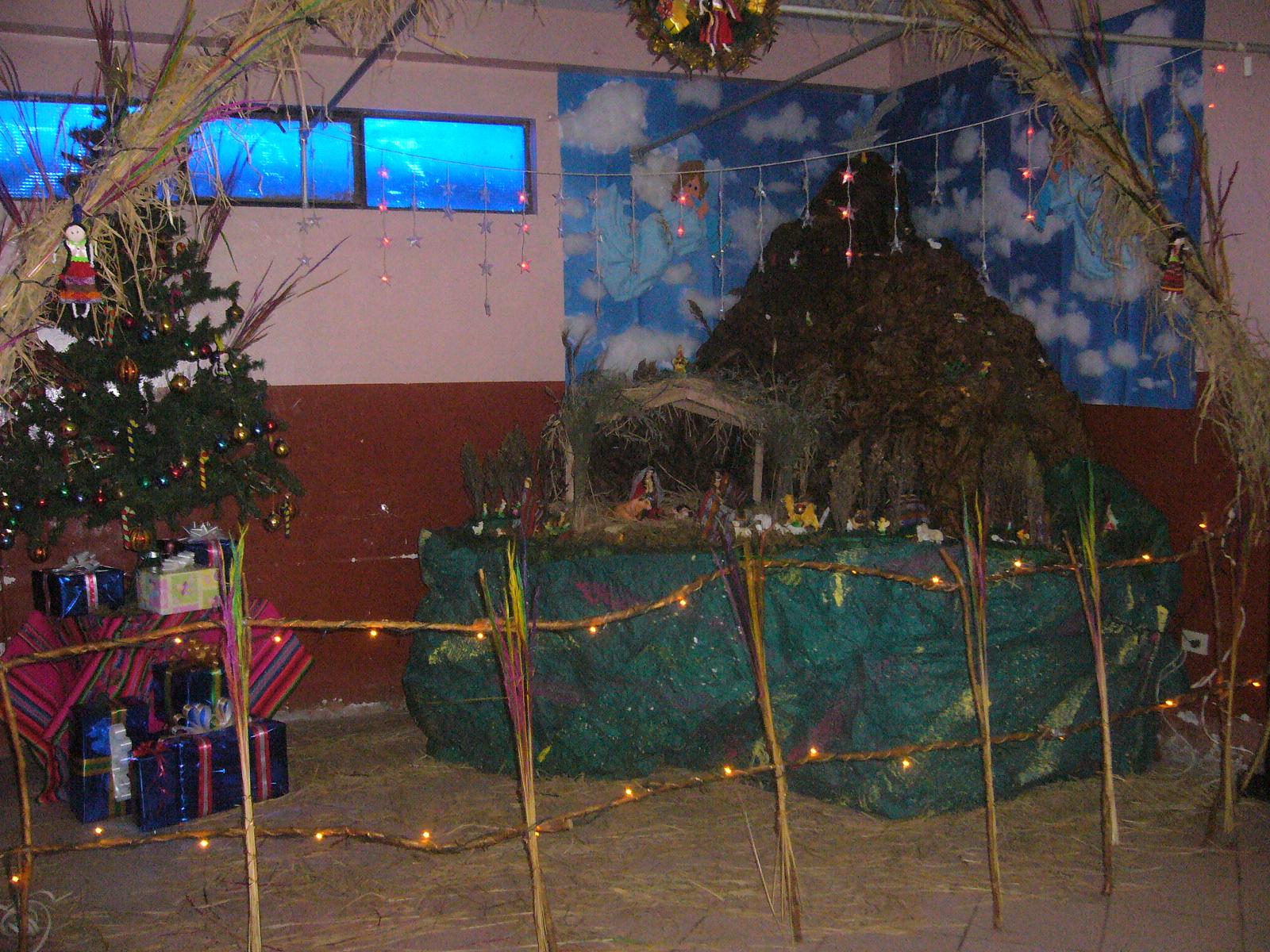 The gallery for nacimientos de navidad peruanos for Ambientacion para navidad