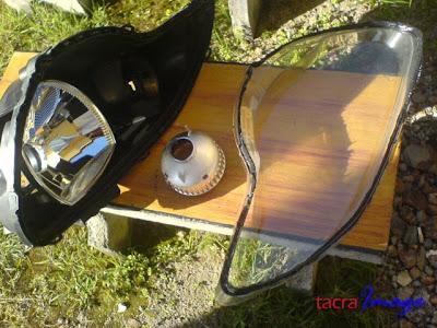 Tacras Diy Garage Smoked Headlamp