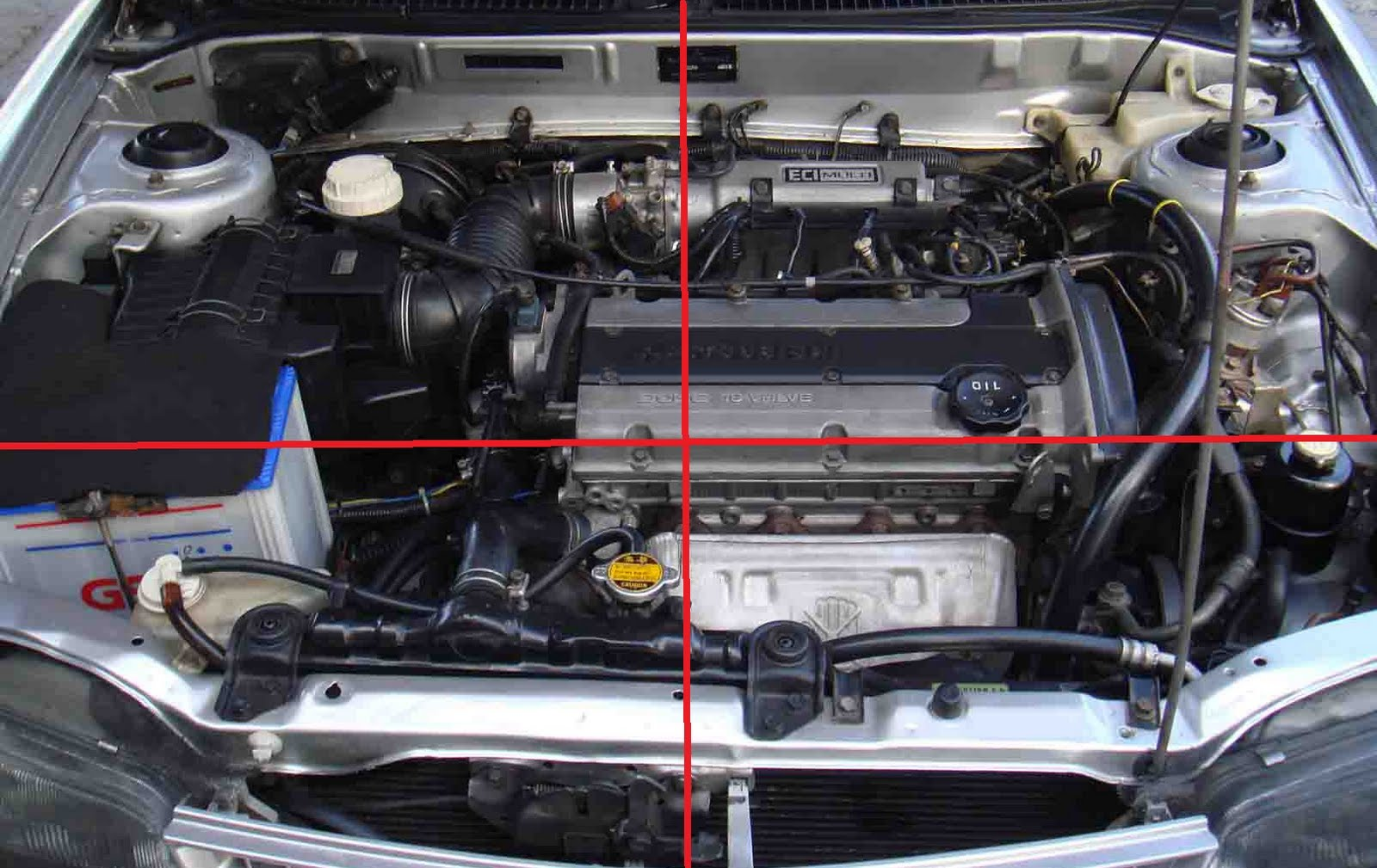 tacra u0026 39 s diy garage  mitsubishi engine bay