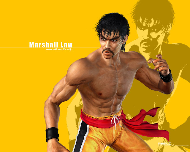 marshall law 50 Best Tekken Game HD Wallpapers
