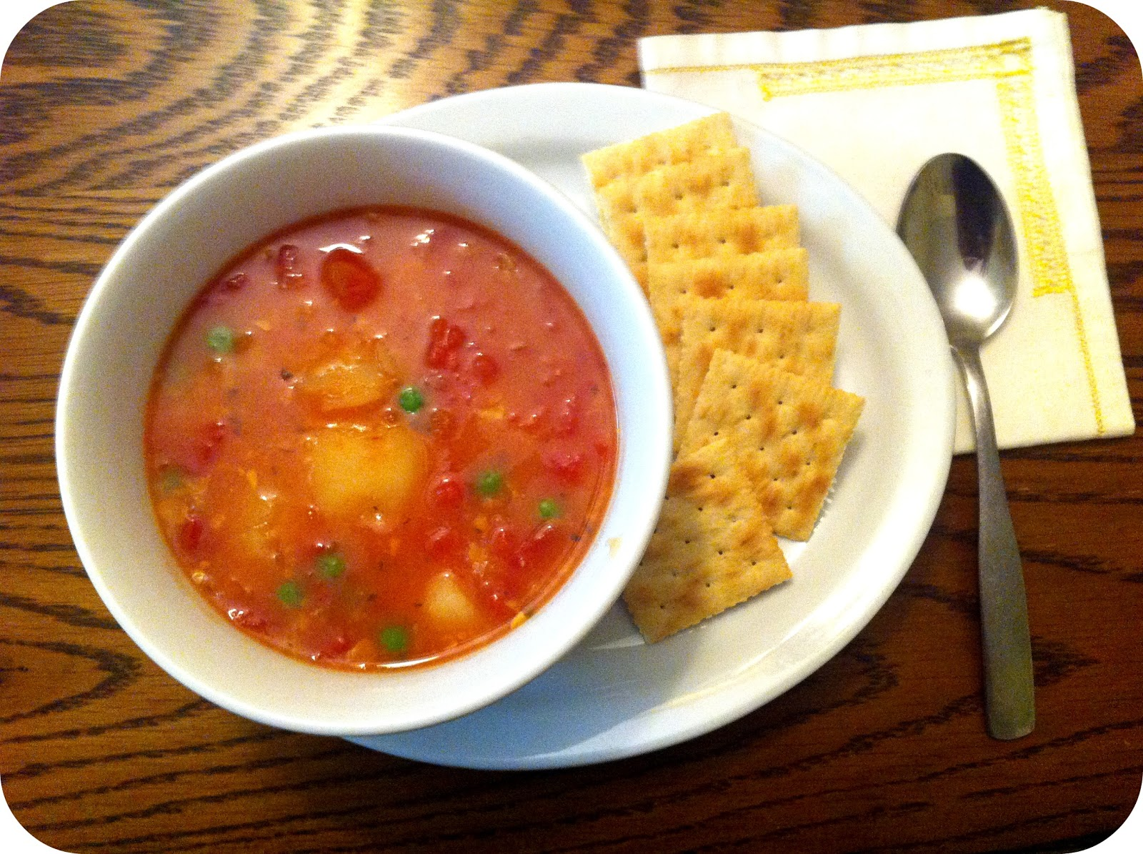 Teaspoon and A Pinch: Winter Vegetable Soup