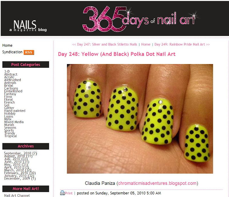 365 Days Of Nail Art Blog
