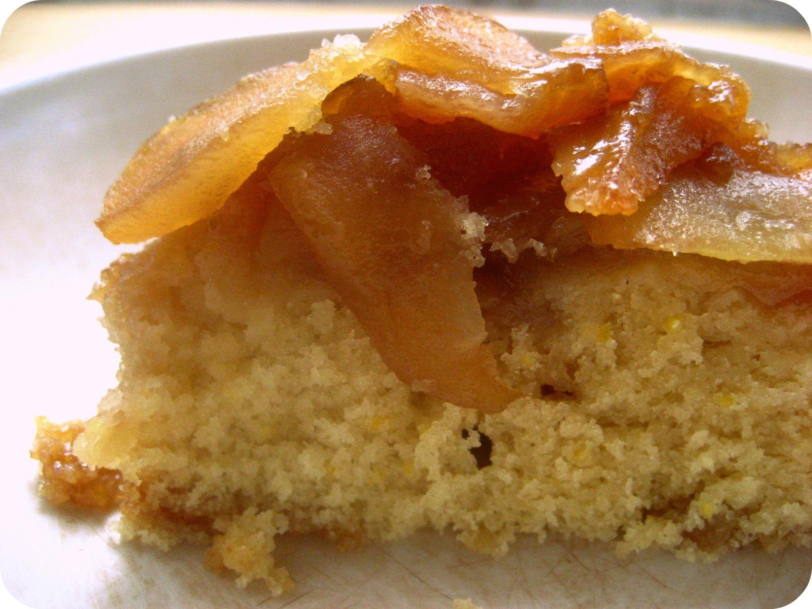 threaded basil: Apple Upside-Down Cake