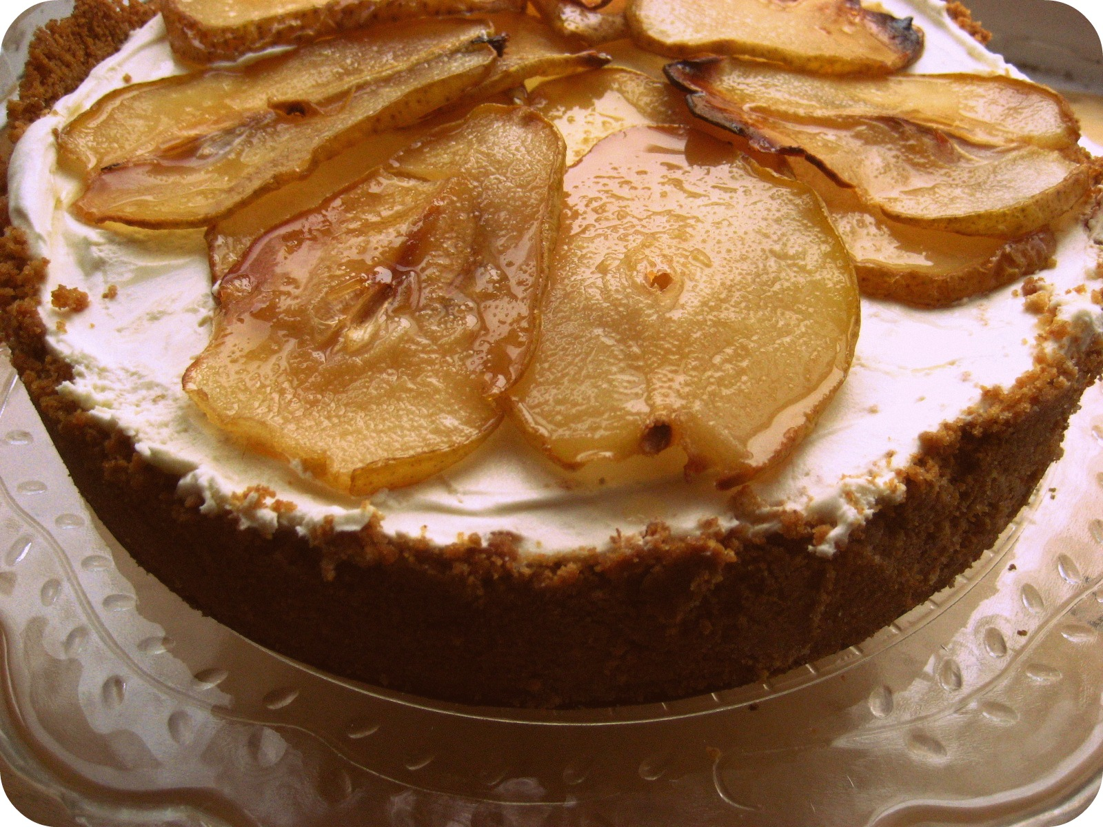 Maple Cheesecake With Roasted Pears Recipes — Dishmaps