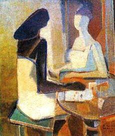 A  Cartomante Burle Marx - 1951