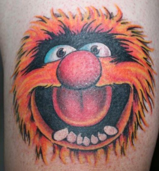 the cartoon tattoos video