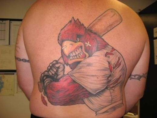 Tattoos: Baseball Tattoos