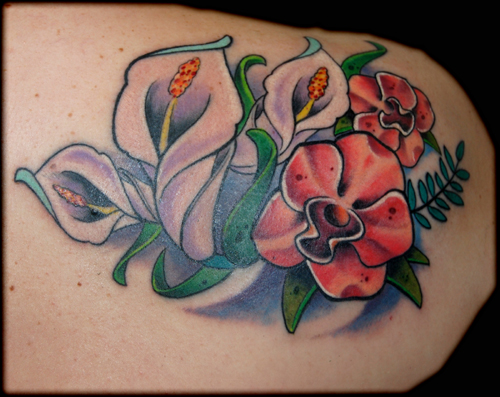 rose flower tattoo. rose flower tattoo. lotus