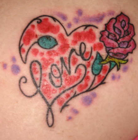 love heart tattoos for women. Love Heart Tattoo for you