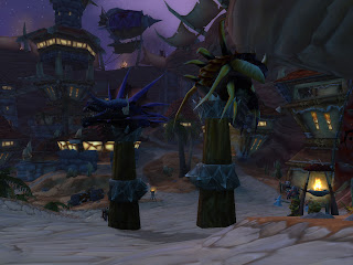 Raid dragon heads in Orgrimmar