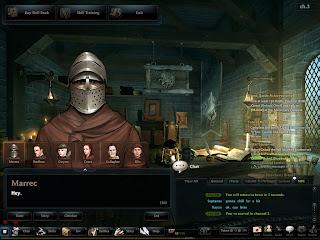 Marrec at the Mercenary Outpost