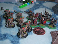 Horgenhold Forge Guard and Hammerfall Highshield Gun Corps