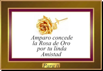 PREMIO ROSA DE ORO