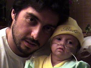 Shlomit con su papá Renzo