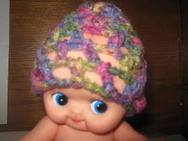 Kewpie Doll with Chemo Cap
