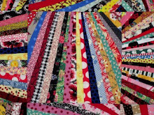 Fan Quilt Imitates Selvage Quilts