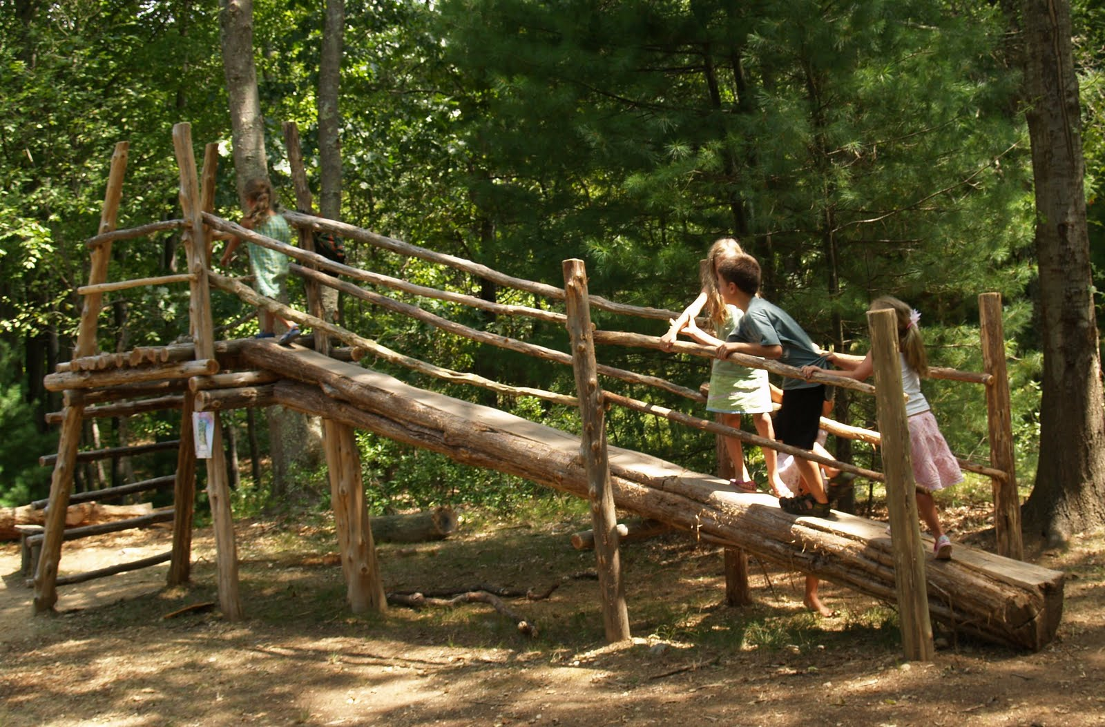 Sweet home days natural playground - Natural playgrounds for children ...