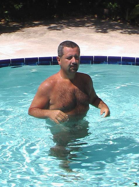Joder en la piscina