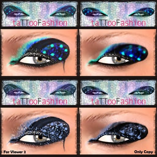 TTF – EYES TATTOO – SET 7/A