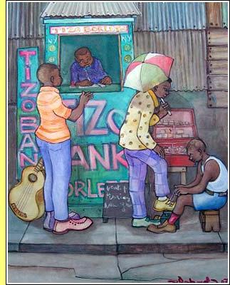 A pouco conhecida arte do Haiti