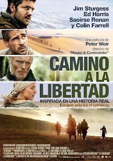 Cartel oficial de la película Camino a la libertad