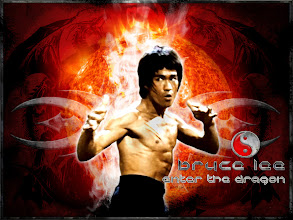bruce Lee on Enter the ragon