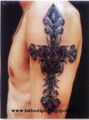 Cross Tattoo Gallery On an Arm