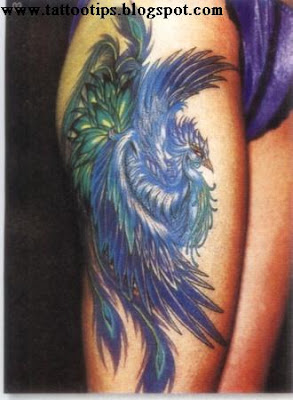 Blue Bird Tattoos Gallery