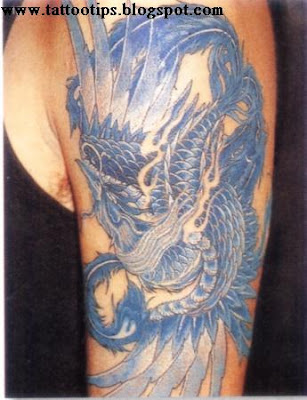 Blue Spider Tattoos Gallery
