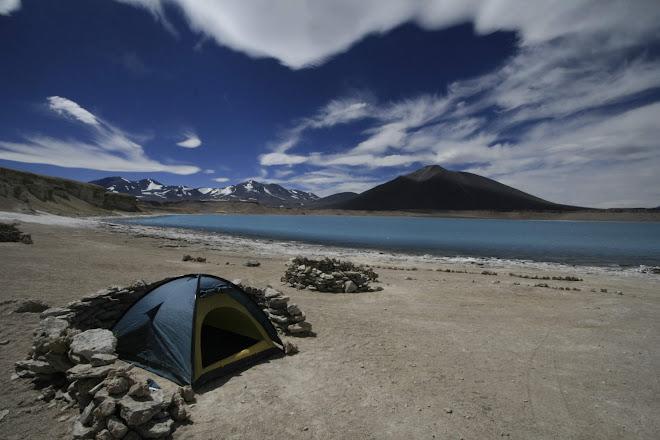 Gener del 2008. Desert d'Atacama, 5200m d'alçada, m'emporto una inesperada sorpresa