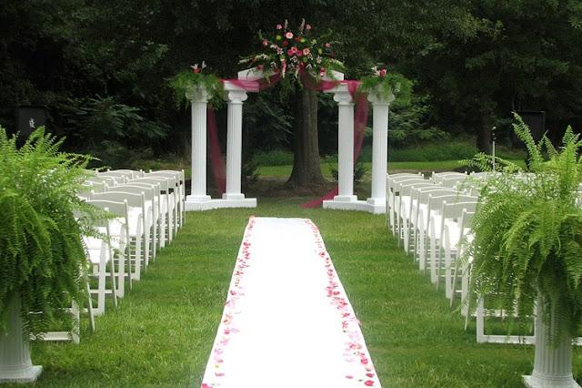 Garden Wedding Decorations Creative Ideas