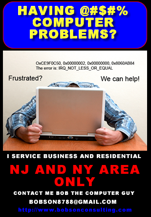 computer service ad
