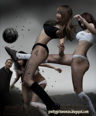 asian sexy girls in football league