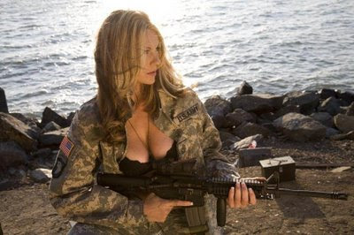 guns and women in war