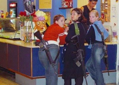 beauty girls and guns