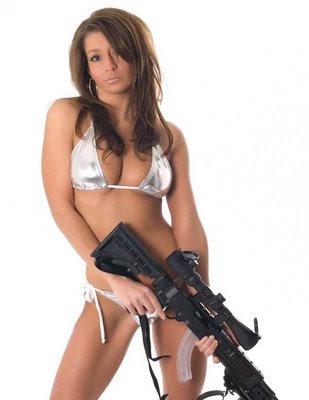 dangerous guns and women