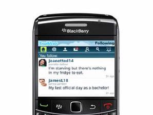 Twitter application for Blackberry